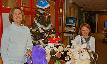 Teddy Bears for Children at Kent General Hospital